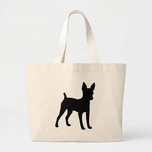 Engranaje del fox terrier del juguete bolsas