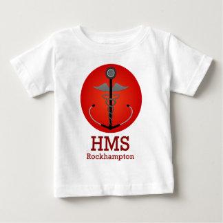 Engranaje del funcionario del HMS Camiseta De Bebé