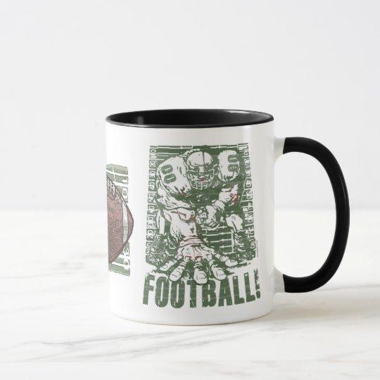Engranaje del fútbol de la postura de 3 puntos por taza