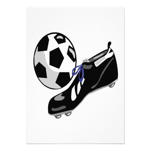 Engranaje del fútbol anuncio