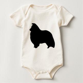 Engranaje del perro pastor de Shetland Body Para Bebé