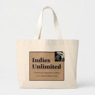 Engranaje ilimitado de los indies bolsas lienzo