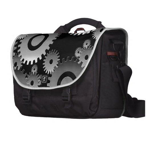 engranajes bolsa de ordenador