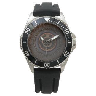 Engranajes del metal del tiempo de reloj de