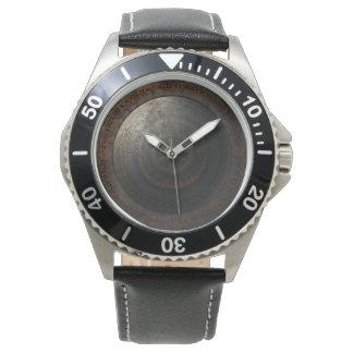 Engranajes del metal del tiempo de reloj de la