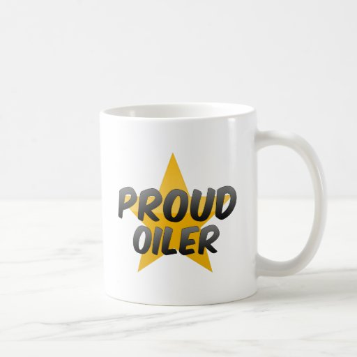 Engrasador orgulloso taza