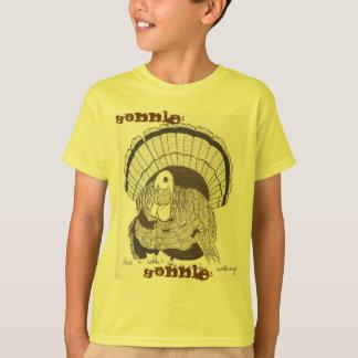Engulla engullen la camiseta básica de los niños