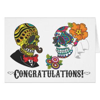 ¡Enhorabuena! Apenas tarjeta casada
