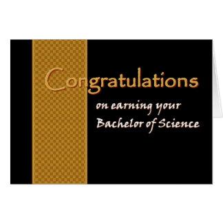 Enhorabuena CONOCIDA DE ENCARGO - licenciatura de Felicitaciones