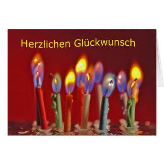 Enhorabuena cordial tarjeta de felicitación