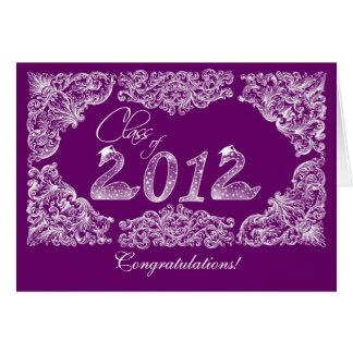 Enhorabuena de la graduación tarjeta
