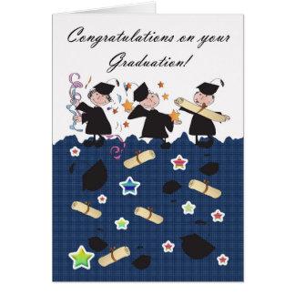 Enhorabuena de la graduación tarjetas