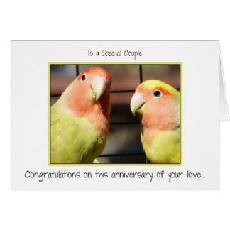 Enhorabuena en su aniversario tarjeta de felicitación