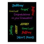 Enhorabuena en su graduación, tarjeta de felicitac