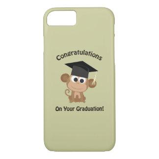 enhorabuena en su mono de la graduación funda iPhone 7