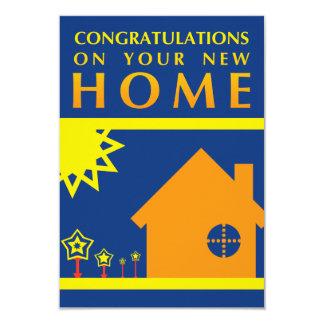 enhorabuena en su nuevo hogar (formas de la puesta comunicado personalizado