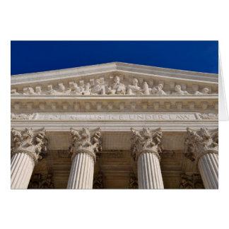 Enhorabuena en Tribunal Supremo de la licenciatura Tarjeta De Felicitación