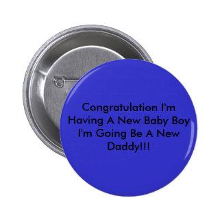Enhorabuena estoy teniendo un nuevo bebé que soy v pin