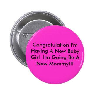 Enhorabuena estoy teniendo una nueva niña que soy… pin