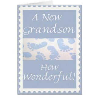 Enhorabuena-Nueva tarjeta de felicitación del niet