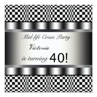 Ennegrezca la 40.a invitación de la fiesta de