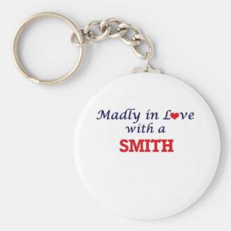 Enojado en amor con Smith Llavero Redondo Tipo Chapa