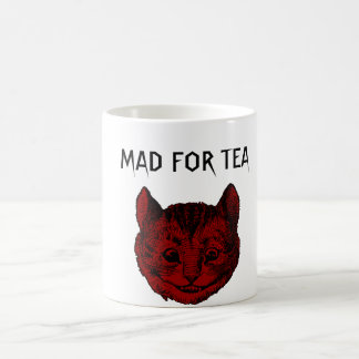 Enojado para la taza Morphing del gato de Cheshire