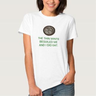 Enrarezca las mentas camisetas