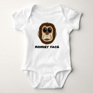 Enredadera de la cara del mono camisetas