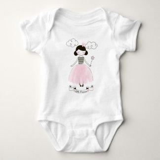 Enredadera del bebé del chica de la princesa body para bebé
