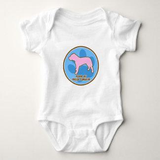 Enredadera del bebé Trendy Perro de Presa Canario Camiseta