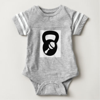enredadera del kettlebell del bebé body para bebé