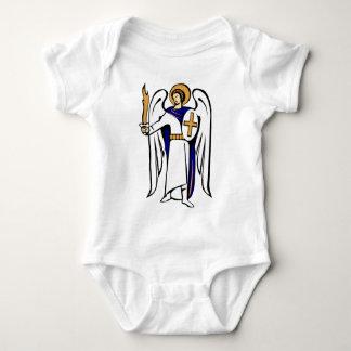 Enredadera infantil de San Miguel con rezo en Body Para Bebé