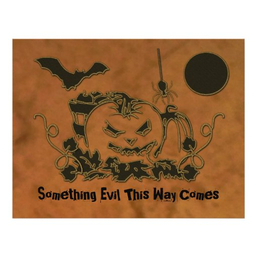 Enredaderas de Halloween Tarjeton
