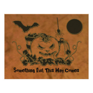 Enredaderas de Halloween Folleto 21,6 X 28 Cm