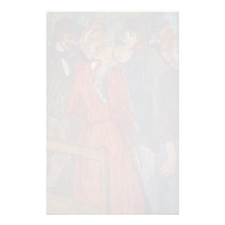 Enrique de Lautrec- At el Moulin de la Galette Papeleria De Diseño