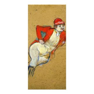 Enrique de Lautrec- La Macarona en hábito de monta Diseño De Tarjeta Publicitaria