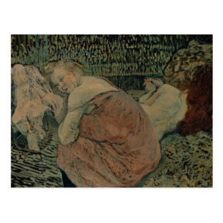 Enrique de Toulouse-Lautrec - dos amigos Postal