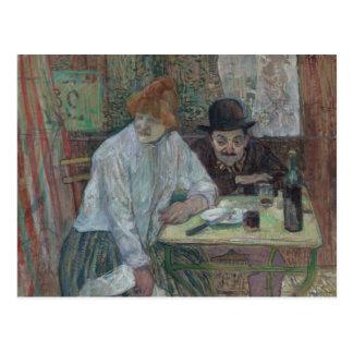 Enrique de Toulouse-Lautrec - en el La Mie del Postal