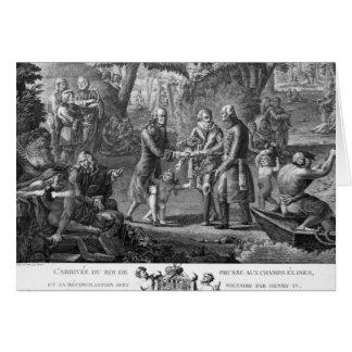 Enrique IV Frederick de reconciliación Guillermo I Tarjetón