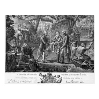Enrique IV Frederick de reconciliación Guillermo I Tarjetas Postales