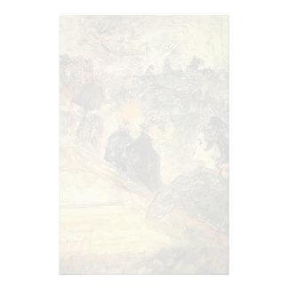 Enrique Lautrec- una bola en el Moulin de la Galet Papeleria De Diseño