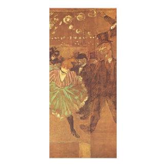 Enrique Toulouse-Lautrec: Cabina del La Goulue Tarjetas Publicitarias