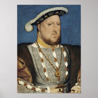 Enrique VIII - Hans Holbein el más joven Póster