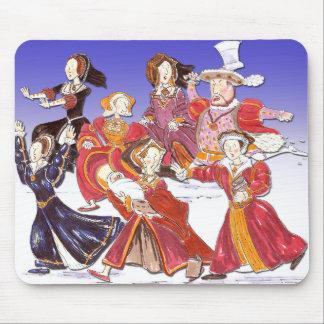 Enrique VIII y su estera del ratón del dibujo Alfombrilla De Ratón