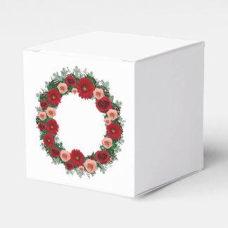 """Enrruelle """"la caja roja/rosada del cono del pino"""" caja para regalos de fiestas"""