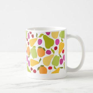 Ensalada de fruta taza básica blanca