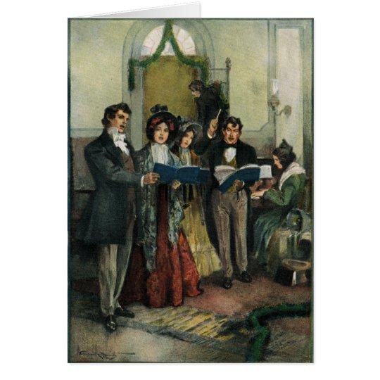 """""""Ensayando tarjeta de felicitación de los himnos"""
