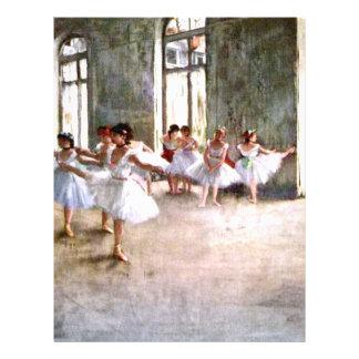 Ensayo del ballet tarjetones
