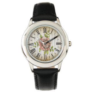 Ensayo del tiempo - color de rosa - reloj